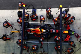 Robohkan benteng Mercedes di Abu Dhabi, Red Bull optimistis tatap 2021