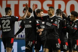 Liga Belanda-PSV Eindhoven lumat RKC Waalwijk 2-0