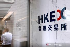 Saham Hong Kong ditutup jatuh, catat kerugian hari keempat beruntun