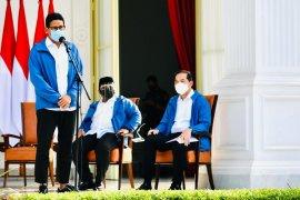 Menparkref Sandiaga Uno siapkan tiga gagasan pariwisata Indonesia