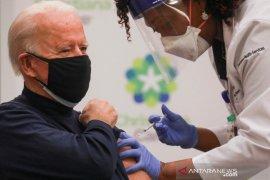 Presiden terpilih Joe Biden terima dosis kedua vaksin COVID-19 Pfizer