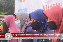 Rihlah Dakwah Pesantren Al-Amin