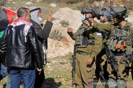 Bentrokan di Tepi Barat dengan Israel