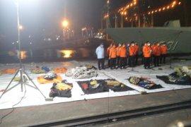 Ada 45 kantong jenazah selama evakuasi korban Sriwijaya