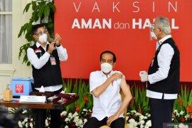 Kawan Vaksin nyatakan vaksinasi perdana pada Presiden Jokowi runtuhkan keraguan
