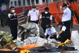 KNKT downloads data from black box of crashed Sriwijaya Air SJ 182