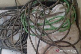 Kabel PT Semen Padang jadi sasaran maling, begini reaksi polisi