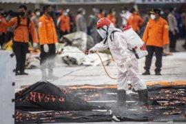 Tim SAR kembali temukan 16 kantong bagian tubuh korban pesawat Sriwijaya SJ 182