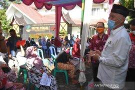 Penyaluran Bantuan Sosial Tunai  di Padang telah mencapai 90 persen