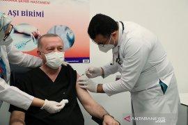Turki terima 6,5 juta dosis tambahan vaksin Sinovac China