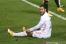 Zidane sebut Eden Hazard butuh dukungan agar  kembali percaya diri