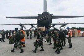Pengiriman bantuan logistik korban gempa di Sulawesi Barat