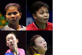 Empat wakil Indonesia berjuang ke final turnamen bulu tangkis Thailand Open
