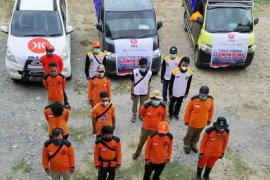 DPW PKS Sulteng  kirim relawan dan bantuan untuk korban gempa Sulbar