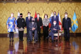 Presiden Ekuador Lenin Moreno  sampaikan salam kepada Presiden Jokowi
