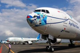 Ini alasan Garuda Indonesia batalkan sejumlah jadwal rute Jakarta-Makassar-Gorontalo