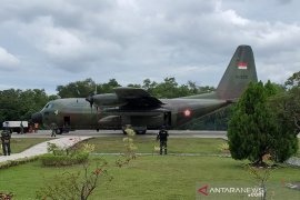 TNI AU kerahkan pesawat bantu korban gempa Majene Sulbar