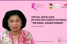 YKPI ungkap kanker payudara mulai menyasar generasi milenial