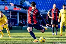 Akkhirbya Bologna sudahi puasa kemenangan saat taklukkan Verona