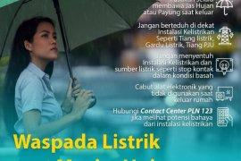 PLN Suluttenggo imbau masyarakat waspada listrik akibat cuaca ekstrem