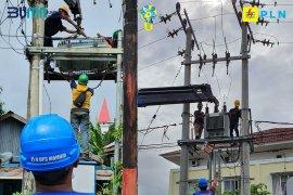 PLN Sulselrabar : 58 persen listrik padam di Sulbar kembali pulih