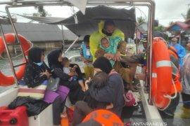Dua kecamatan di Tanah Laut tenggelam disapu banjir