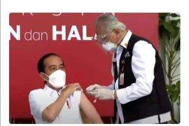 Presiden Jokowi dongkrak pamor Sinovac