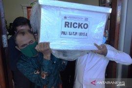 Ricko korban Sriwijaya Air SJ-182 dimakamkan di TPU Panaikang