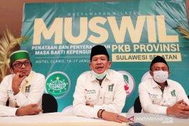 Azhar Arsyad kembali pimpin PKB Sulawesi Selatan