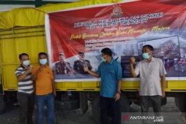 Kejati Sulteng salur bantuan kepada korban bencana Sulbar