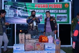 Bantuan Banser Sulsel tiba di Sulawesi Barat