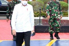Presiden Jokowi terbang ke Kalsel pastikan penanganan bencana berjalan baik