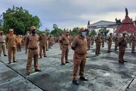 2.035 ASN di Papua ikuti apel pagi perdana penerapan kebiasaan baru