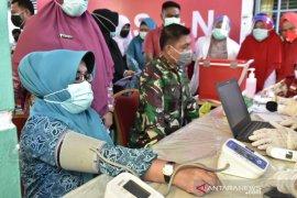Bupati Kampar beserta istri dan Sekda gagal divaksin karena hipertensi