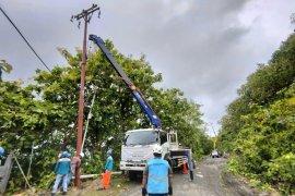 46 gardu listrik PLN di Sulbar alami gangguan akibat longsor