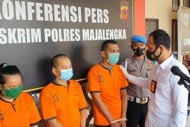 Polres Majalengka tangkap tiga tersangka penyalur pekerja migran ilegal