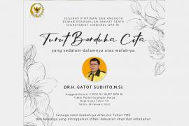 Anggota DPR RI  Gatot Sudjito meninggal dunia akibat COVID-19