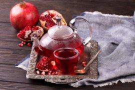 Manfaat minum teh delima, tingkatkan reproduksi hingga cegah penyakit tulang