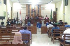 Mantan Bupati Lampung Tengah kembali jalani sidang