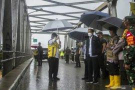 Presiden Jokowi tinjau banjir di Kabupaten Banjar