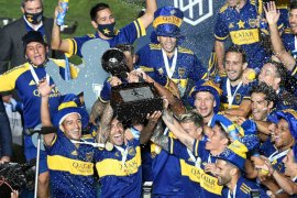 Boca juarai Maradona Cup