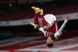 Arsenal tundukkan Newcastle, Aubameyang sumbang dua gol