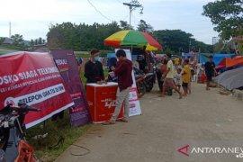 Jaringan dan layanan Telkomsel pulih 100% di Sulawesi Barat