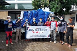 Bawaslu Sulsel kirim perlengkapan pengungsi gempa di Sulbar