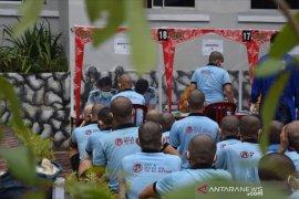 Tiba di Rutan Sialang Bungkuk, 101 tahanan diisolasi 14 hari