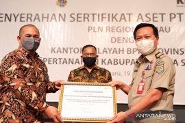 PLN Riau dibantu KPK dan ATR/BPN amankan aset tanah senilai Rp110,7 miliar