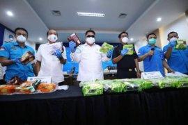 BNN ungkap dua kasus narkoba dengan barang bukti 53,05 kg sabu-sabu