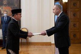 Dubes RI Iwan Bogananta sampaikan surat kepercayaan ke Presiden Bulgaria