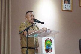 Bupati Lampung Selatan gelar rakor penanganan COVID-19 dengan para kades