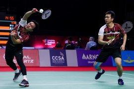Ganda putra Ahsan/Hendra mantap melangkah ke perempat final Thailand Open II